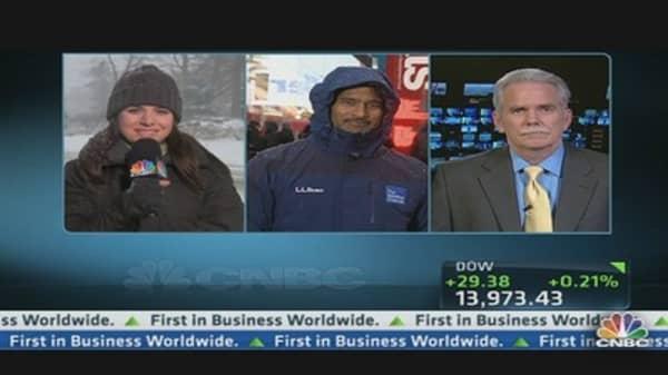 New York City Braces for Blizzard
