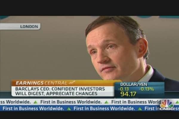 Weak Economy Limits Growth: Barclays CEO