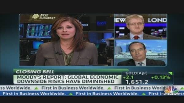 Moody's: Global Economic Downside Risks Diminished