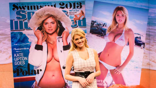 Kate Upton visits CNBC to talk about being the two-time cover girl for Sports Illustrated Swimsuit edition.