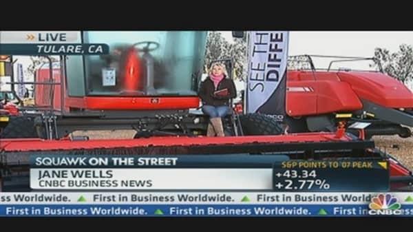 Deere Beats the Street