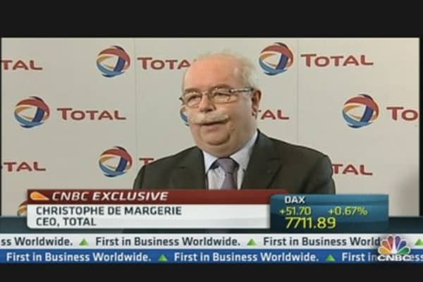 Oil Prices to Stay: Total CEO