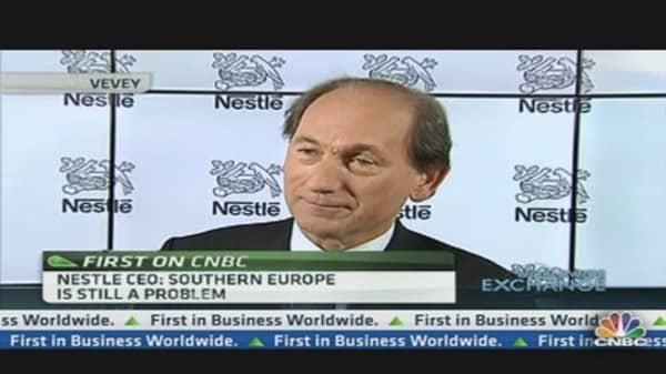 Nestle CEO: Confident Despite Slow Growth