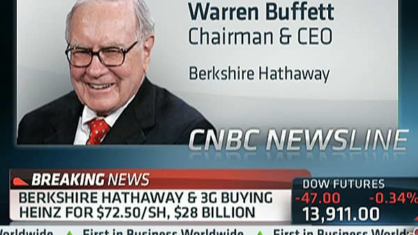 Buffett on Heinz: This is My Kind of Deal