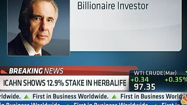 Carl Icahn Bets Big on Herbalife
