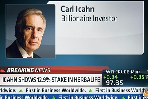 Carl Icahn Bets Big on Herbalife