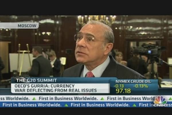 There Is No Currency War: OECD's Gurria