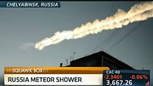 Meteorite Flashes Across Russian Sky