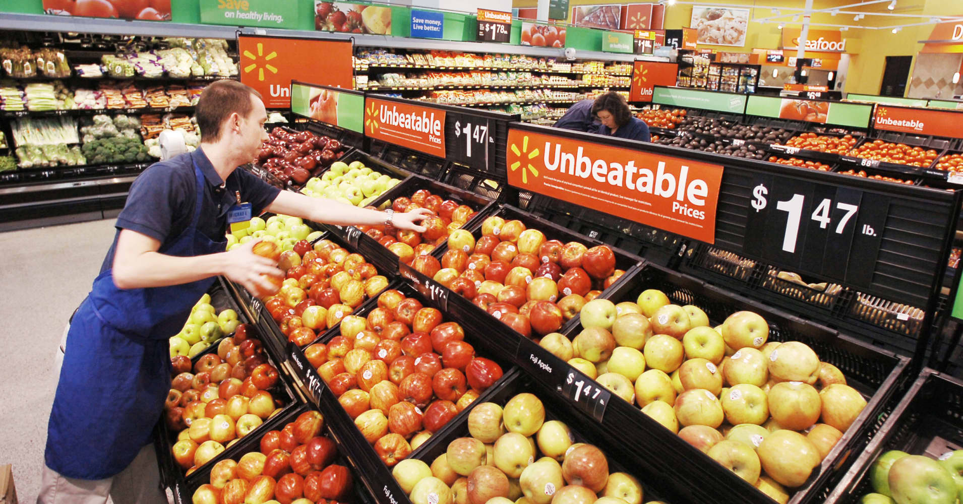 Walmart to develop grocery supply throughout US following pilot check