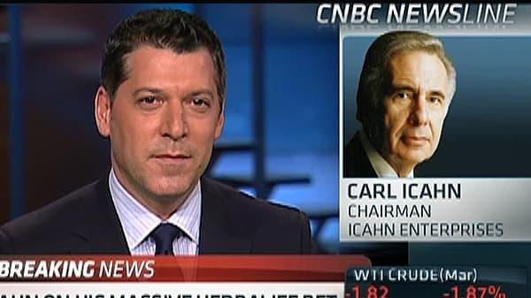 Carl Icahn: Why I'm Betting on Herbalife