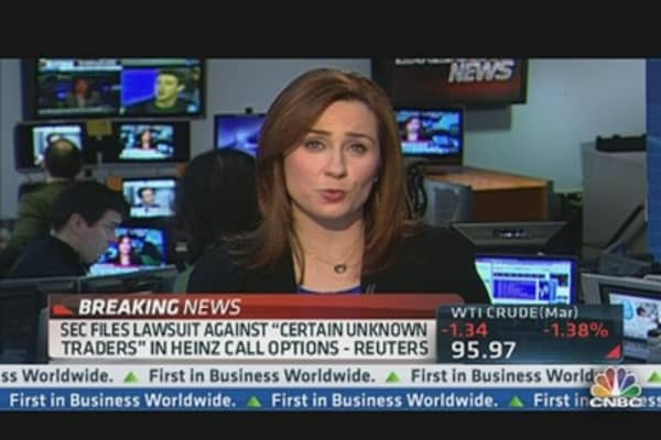 SEC Files Lawsuit After Heinz Call Options