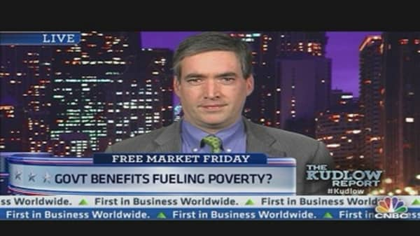 Govt. Benefits Fueling Poverty?