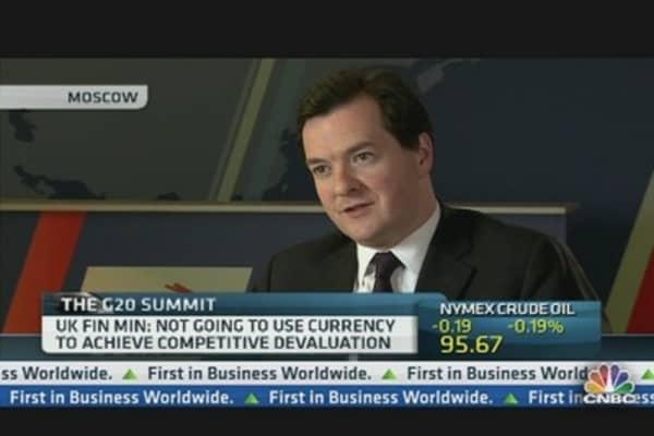 We Need International Agreement on Tax: Uk's Osborne