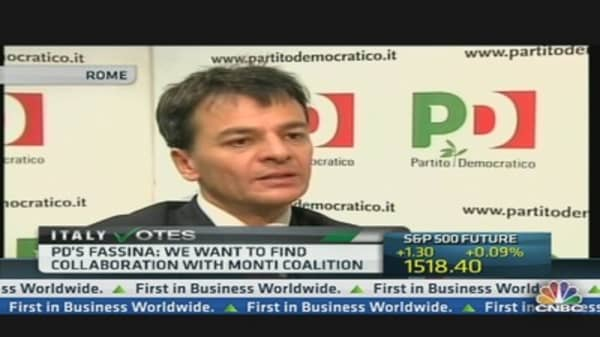 We Want a Govt 'Credible' and 'Able to Implement Reform': PD's Fassina