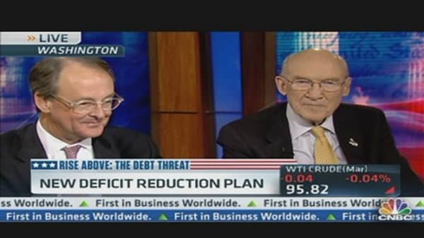 Simpson/Bowles: New Deficit Reduction Plan