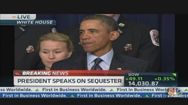 Pres. Obama Addresses Avoiding Sequester