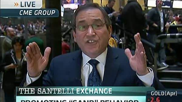 Santelli: Government Promoting 'Sand' Behavior