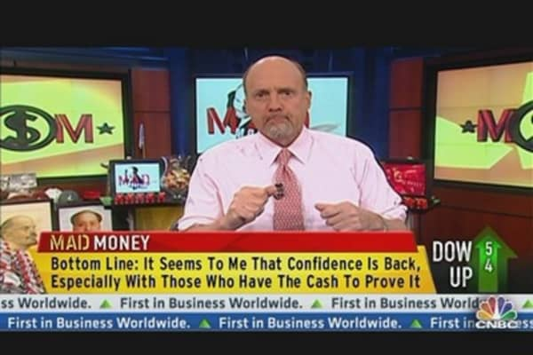 Cramer: Full Steam Ahead?