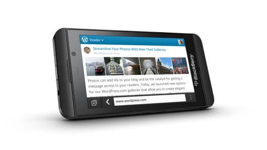 Blackberry's Z10 smart-phone, the most important launch in its history?
