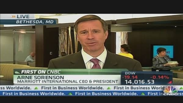 Checking In With Marriott's CEO