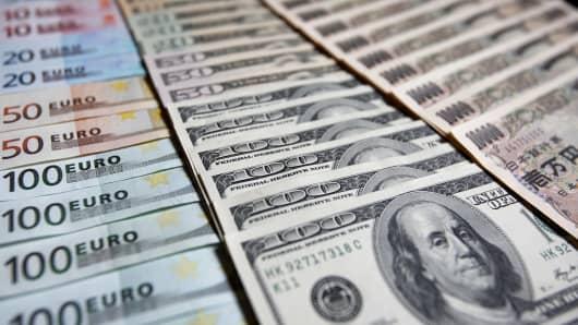 Euro Dollar Yen