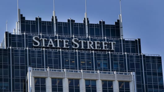 State Street Financial Center building, which houses the company's headquarters, in Boston, Massachusetts.