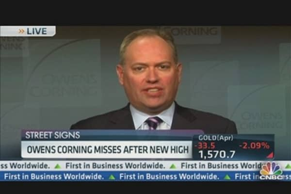Owens Corning CEO on Housing