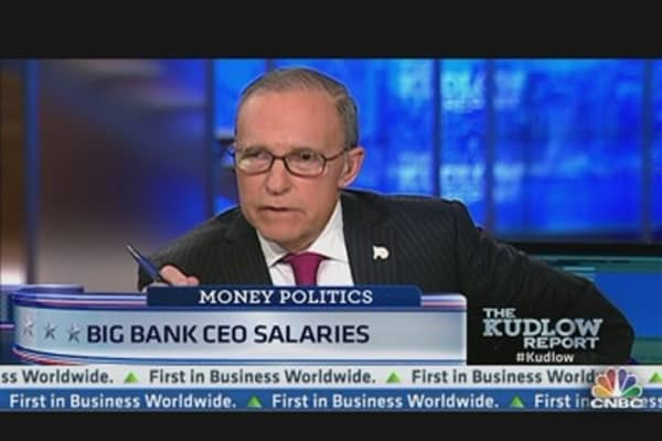 Big Bank CEO Salaries on the Rise