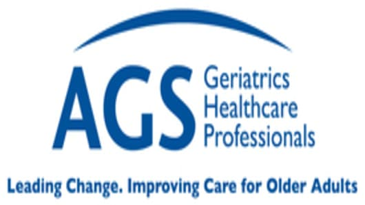 American Geriatrics Society logo