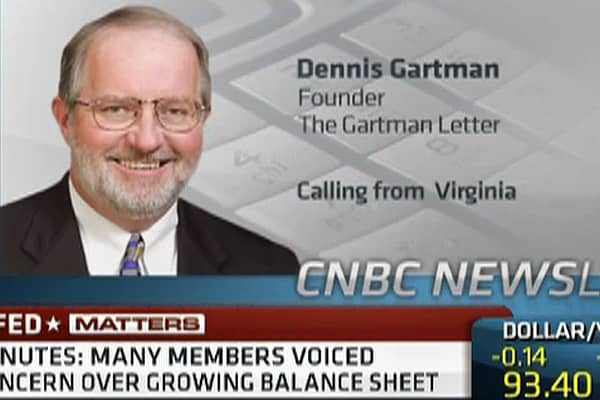 Gartman: Market Music Has Stopped, I'm Getting Out