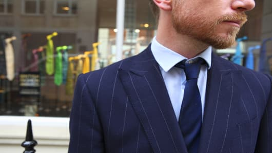 Timeless Suits From London S Savile Row Back In Fashion