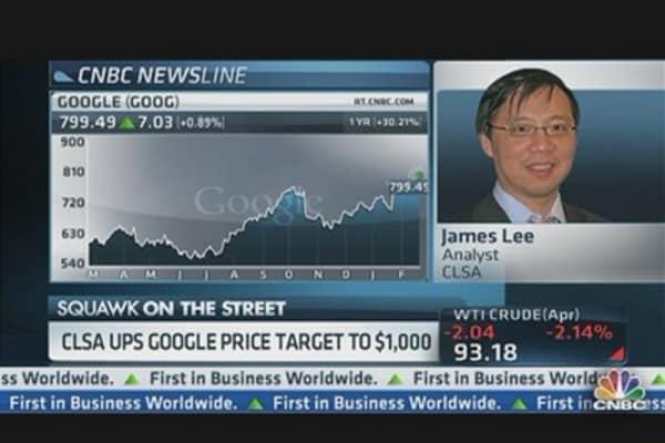 Google at $1,000?