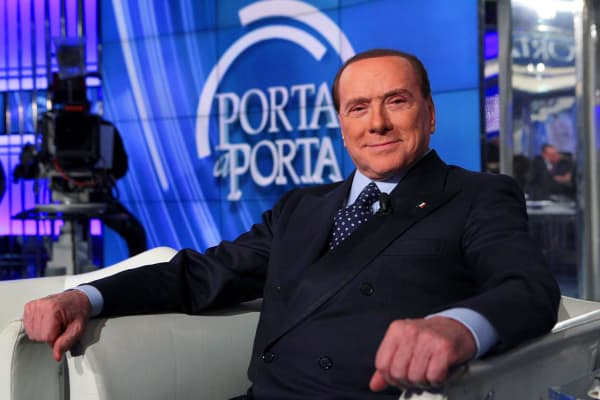 Former Prime Minister Silvio Berlusconi represents the country's darker side in the controversial new documentary.