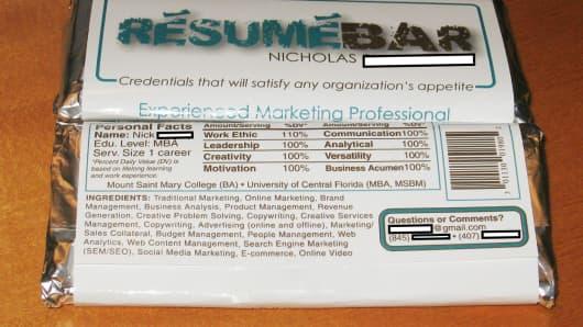 Resume Bars