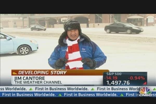 Winter Storm Q Hamers Midwest