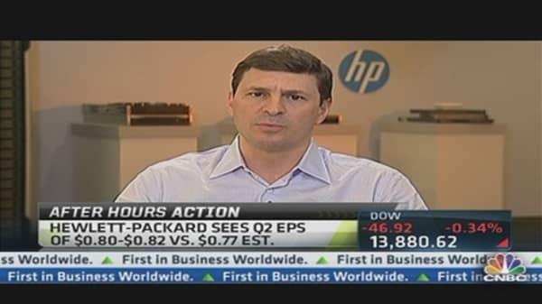 Hewlett-Packard Rallies After Hours