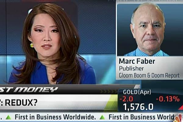 Marc Faber: 'Market Has Peaked Out'