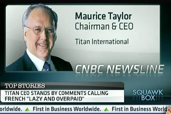 Titan CEO: 'French Are Devout Commies'