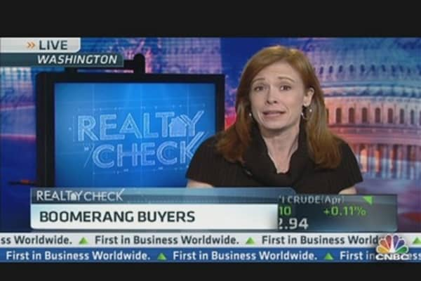 Housing 'Boomerang Buyers'