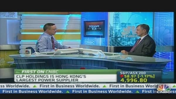 No Sweetheart Deal For Hong Kong: CLP CEO
