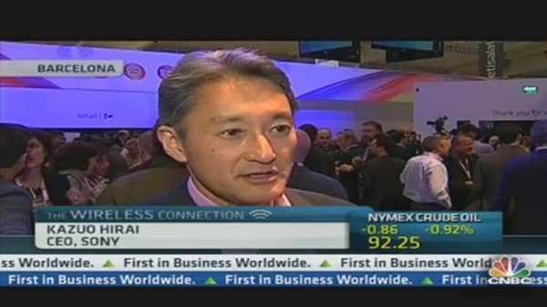Sony CEO:  Concentrating On Core Business