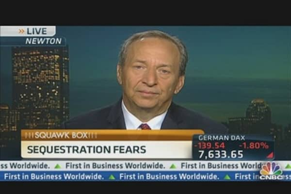 Seeking 'Balance' on Capitol Hill: Larry Summers