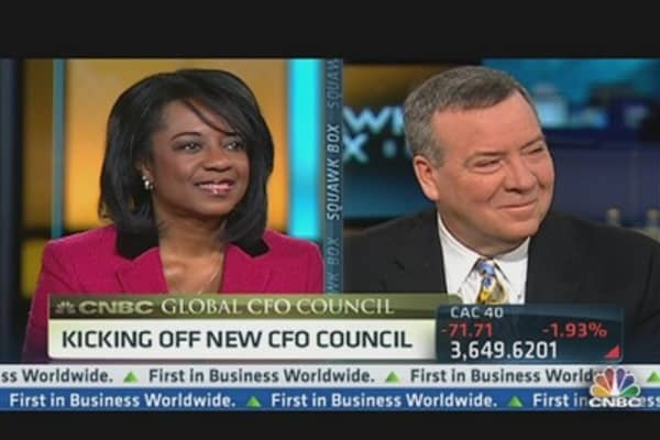 CNBC Global CFO Conference Kick Off