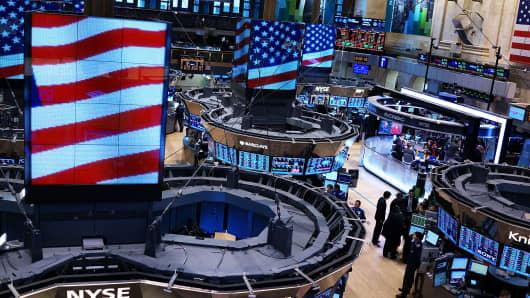 NYSE floor