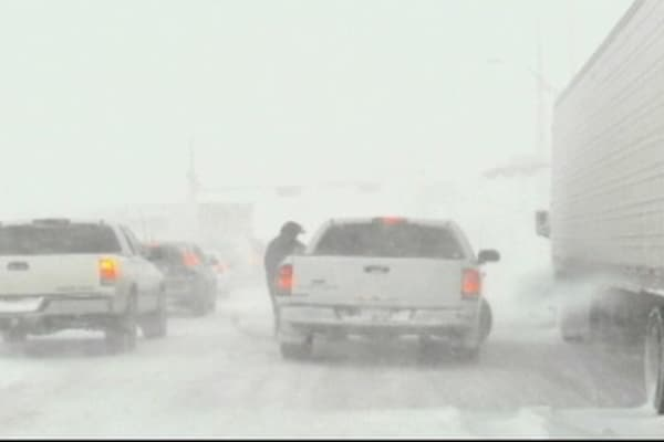 Another Blizzard Cripples Midwest