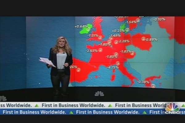 Euro Stocks at 3-Month Low on Italy Stalemate