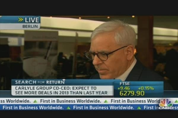 Rubenstein: Sequester Won't Affect Long-Term Investments