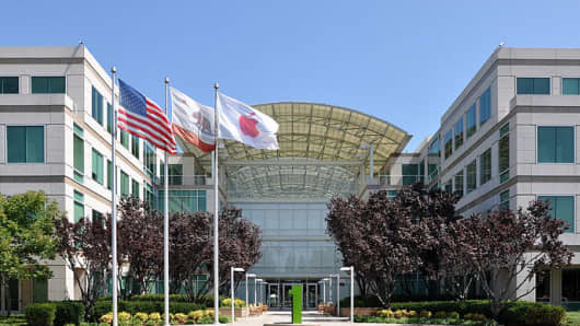 Apple Inc. headquarters in Cupertino, California.