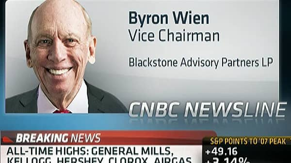 Byron Wien: I'm 'Suspicious' of This Rally
