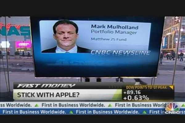 Apple Still a Growth Stock: Mark Mulholland